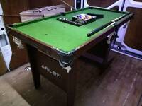 Pool table 6 ft