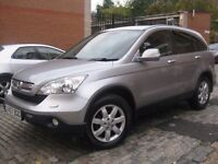 HONDA CRV NEW SHAPE 57 REG 2007 **** 5 DOOR 4X4 JEEP **** £3995 NO OFFERS **** 5 DOORS MPV HATCHBACK