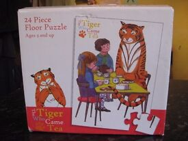 Large 24 piece Tiger came to tea floor puzzle