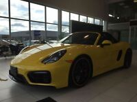 2015 Porsche Boxster GTS - WOW! ONE OWNER TRADE IN!!!