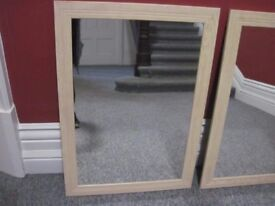 Two nice mirrors for sale large