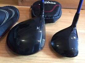 USED TITLEIST 913D DRIVER & 913F 3 WOOD REGULAR