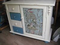 SHABBY CHIC SOLID PINE CUPBOARD