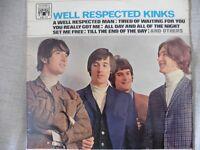 THE KINKS Well Respected Kinks 1966 mono vinyl (MAL 612)