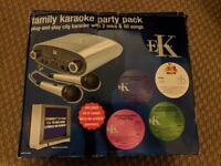 Family Karaoke Party Pack - Perfect for Christmas Entertainment!!! - Unused!