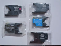 Various Brother LC1240 Ink Cartridges