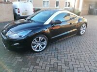 2013 Peugeot RCZ GT200 ex demo, fully loaded