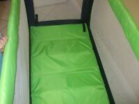 babyway travelcot for sale