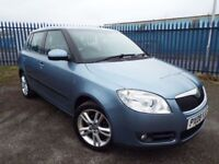 2008 SKODA FABIA 1.6 16V 5 DOOR F/S/H FULL MOT PX WELCOME FINANCE AVAILABLE