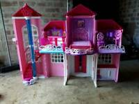 Barbie tower and various stuff