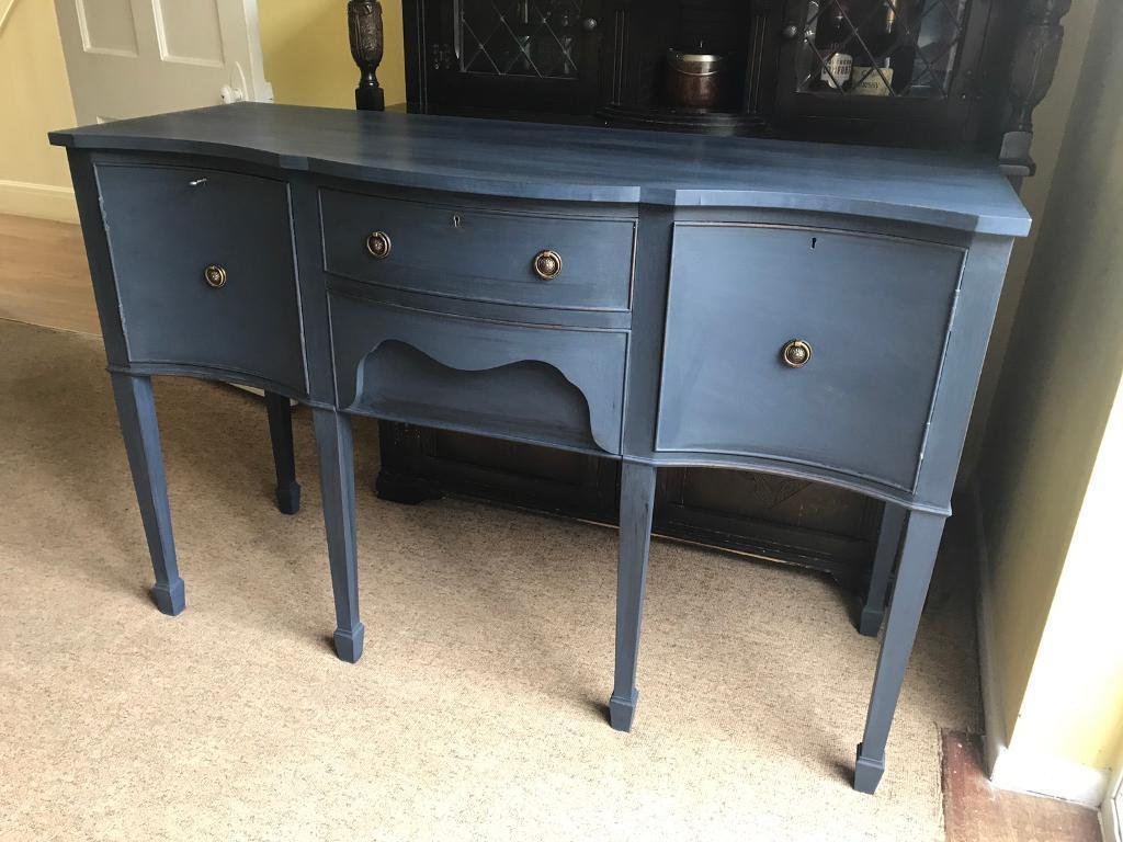 Up Cycled Vintage Solid Mahogany Dresser/Sideboard (Can Deliver)