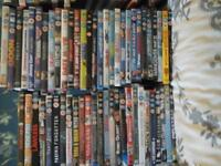 Mixed Dvds, good titles, good condition £20 for 150