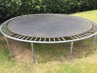Free Trampoline in fair condition - still has years of use. Please pick up as soon as possible.