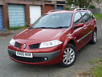 Reliable and clean family car RENAULT MEGANE