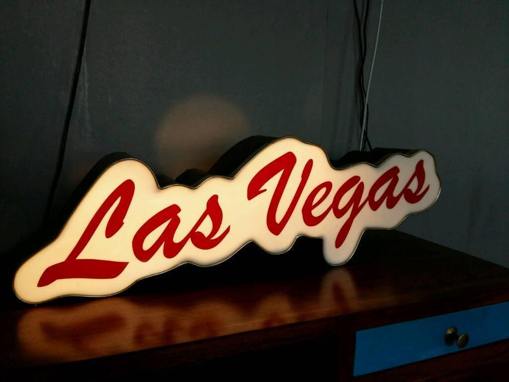 Las Vegas Vintage Lamp