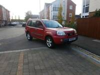 Diesel 4x4 Nissan X-Trail 6 speed with tow bar ,long mot ,glass sunroof ,px welcome