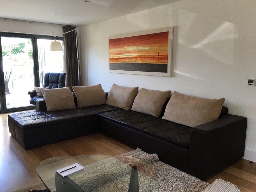 boconcept mezzo corner chaise sofa in romsey hampshire. Black Bedroom Furniture Sets. Home Design Ideas