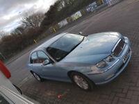 41000 Mls 2003 BMW DESIGNED future Collectors car Rover 75 rare Turbo 1.8T Petrol