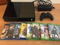 Xbox ONE console plus games bundle - Bargain £159