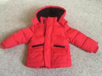 Cosy M&S fleece-lined padded toddler jacket 12-18mths
