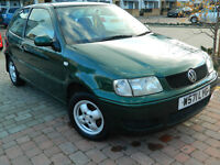 2000 VW POLO 1.4 MATCH 3 DOOR METALIC GREEN ***FSH***15 STAMPS***
