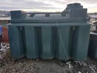 2500 litre bunded oil tank or diesel bio storage £525