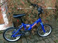"Halfords Trax T16 - Boys Mountain Bike - 16"" wheels, 10"" steel frame Great Christmas Gift!"