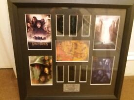 TWO LORD OF THE RINGS LIMITED EDITION FILM CELLS