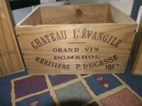 3 Wine Boxes Two Wine Boxes And Another Wood Box Weymouth Free Local Delivery