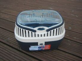 Pet Carrier for small animals plus ramp, many tunnels, bowls and other accessories