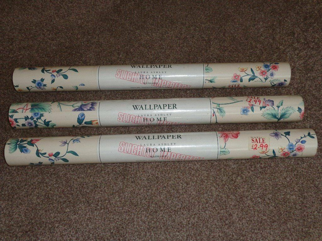 Laura Ashley Chinese Silk Design Wallpaper In Milton