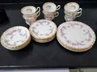 Royal Albert Dimity Rose tea set