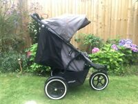Phil & Ted Sport Graphite double or single pushchair