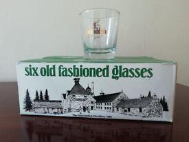 Glenfiddich Whisky Glasses
