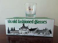 Glenfiddich Whisky Glasses