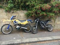 Derbi senda drd 125 4t 4v/ husky is now sold