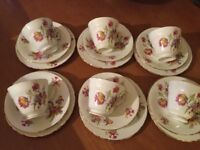 Beautiful Vintage Bone China Tea Set- Excellent Condition.