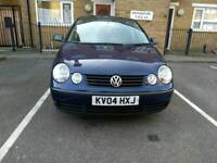 2004 VW POLO 1.2 PETROL MANUAL FOR CHEAP PRICES £950###MOT UNTIL JULY2018