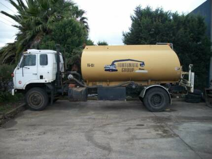 NISSAN DIESEL 1984 CK11 WATER TRUCK. FULLY SET UP UNIT.