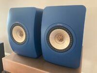 Kef LS50 Meta Royal Blue Speakers (pair) £670