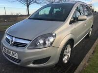 Vauxhall Zafira Exclusive 1.8