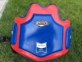 Ampro pro gel body protector MMA boxing body bag