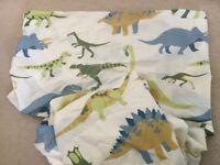 Dinosaur single duvet cover and pillow case