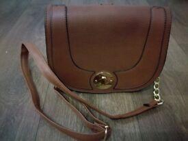 Women s GG Soho Leather Inspired Handbag Pink Gold Fashion UK  0707a392ecb8b