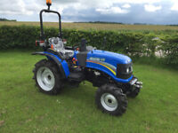 Brand new Solis 26 hp compact tractor