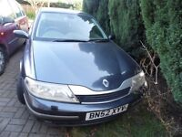 For Repair Or Spares Renault Laguna Initiale 1.9 DCI cruise control Xenon lights sat nav leather +