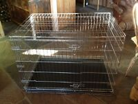 Dog Crate, easy assemble.V Good condition