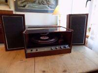 Vintage Wyndsor 1500s Stereo System- Garrard 2025TC Record Deck