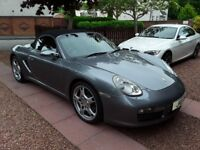 Porsche Boxster 3.2 S 2005 fully loaded .Slate grey .
