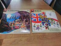 Musical lp records